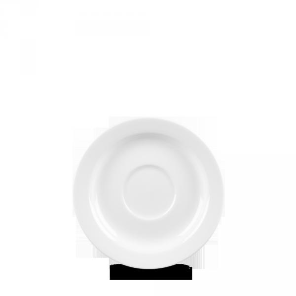 "White Profile Saucer 5"" 12/box"