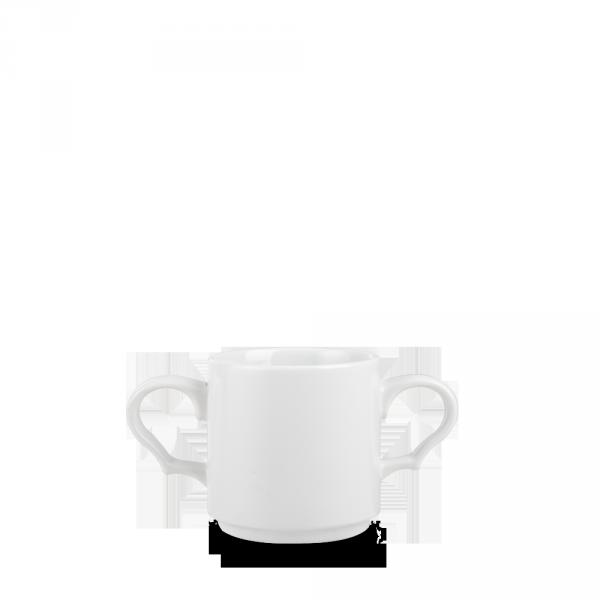 White - Future Care Stacking Double Handled Mug 10Oz 12/box