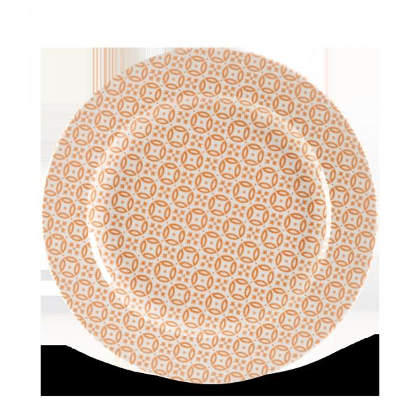 """Moresque Coral Profile Plate 10.875"""" 12/box"""