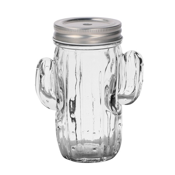 Cactus Drinking Jar 414 ml