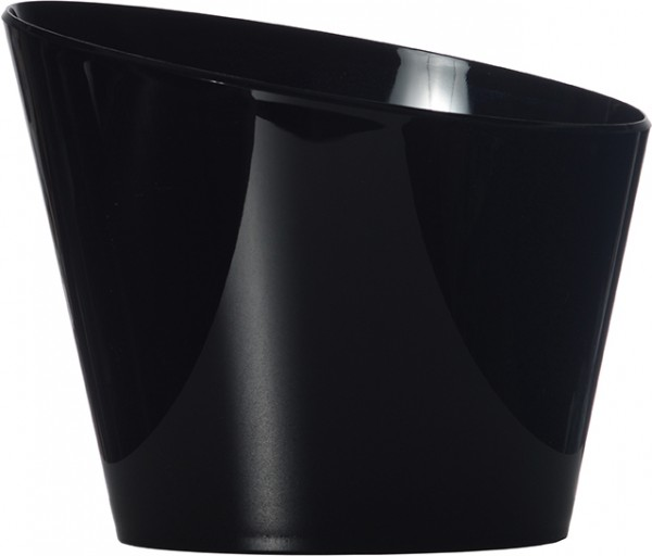 APS bottle coller acrylic black small