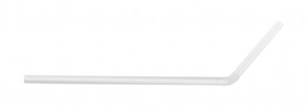 ECO rietjes transparant met buigstuk 6 Ø 19,5 cm