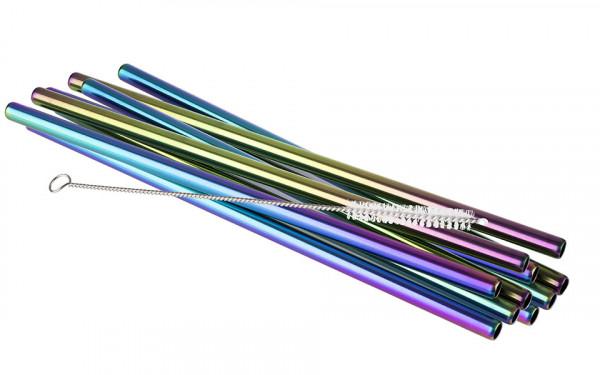 aps-ass-93385-metal-straw-rainbow