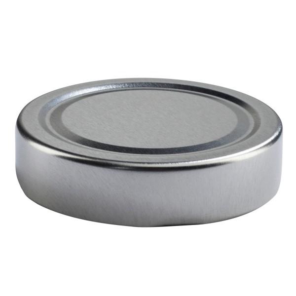 Twist off lid for milkbottle 500 ml silver