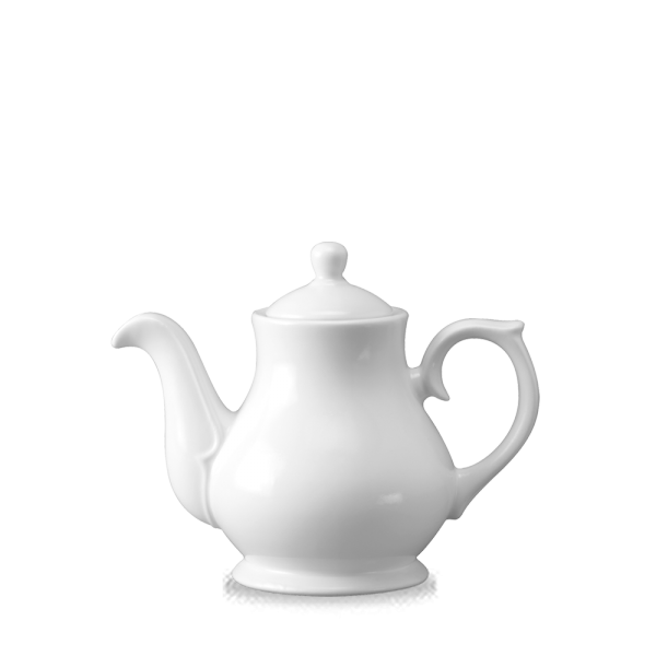 White Sandringham Beverage Pot 2Cup 15Oz 4/box
