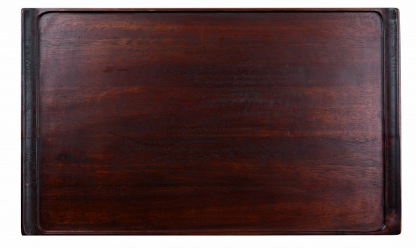 "Wood Rectangular Tray 20 7/8"" X 12 3/4"" 2/box"