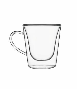 Mug Thermic Glass (Duos) espresso 12 cl