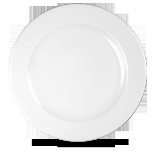 """White Profile Plate 12"""" 12/box"""