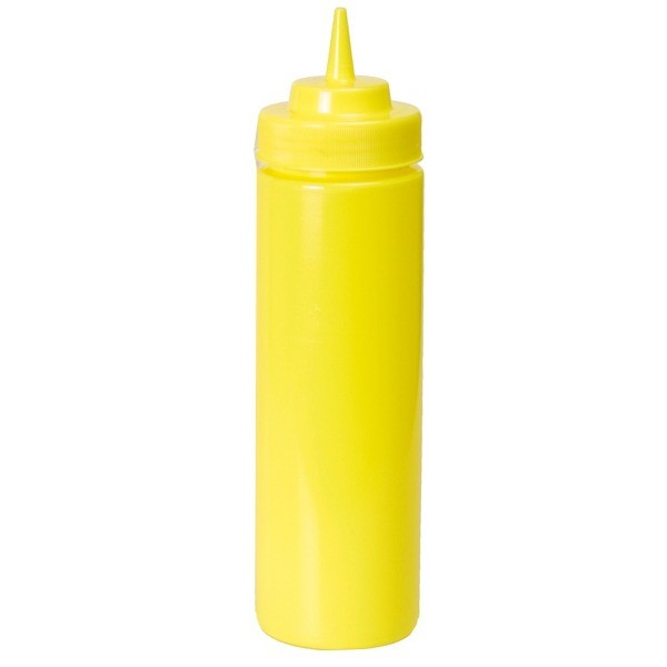 Squeeze Bottle large yellow 708 ml