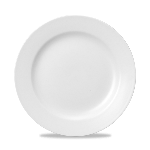 "White Classic Plate 10"" 24/box"