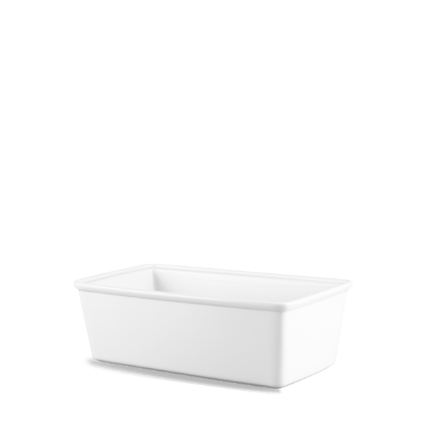White Cookware Lrg Rect Casserole Dish 140.8Oz Box 2