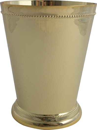 Julep Cup with Gold plating 350 ml * H 10,5 cm * Ø 8,5 cm