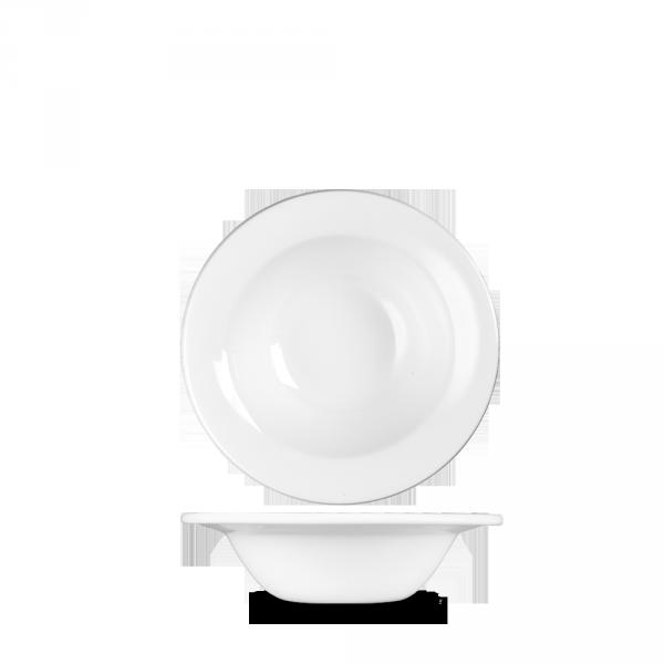 "White Profile Oatmeal 6 5/8"" 12/box"