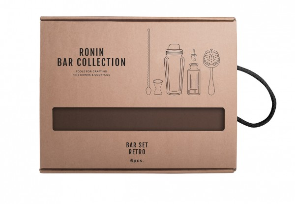Ronin Bar Collection Bar Set Retro Craft Line