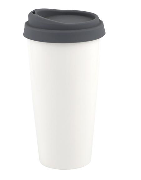 Mug Tumbler with silicone lid