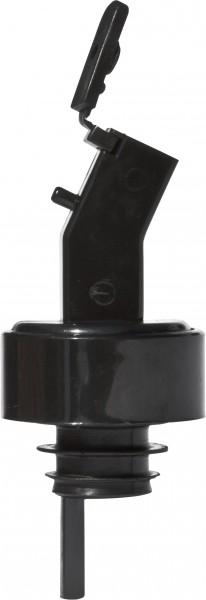 Pour & Seal pourer with cap black 12/pak OUTLET