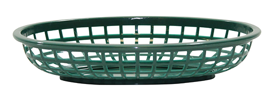 Classic Oval Basket Forest Green 36/box