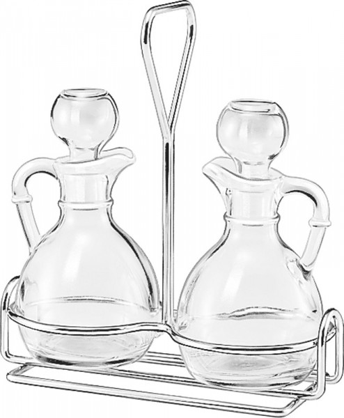 3pc Cruet Caddy Set (Prices Per Set)