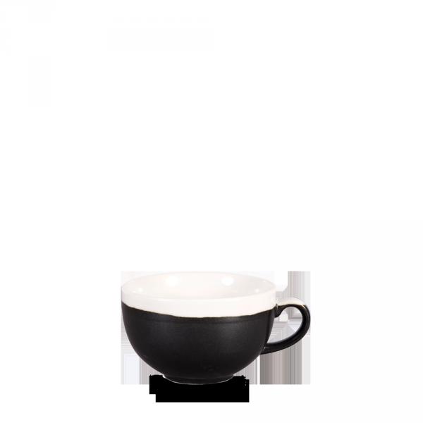 ONYX BLACK CAPPUCCINO CUP