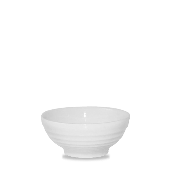 White Ripple Snack Bowl 10Oz 12/box