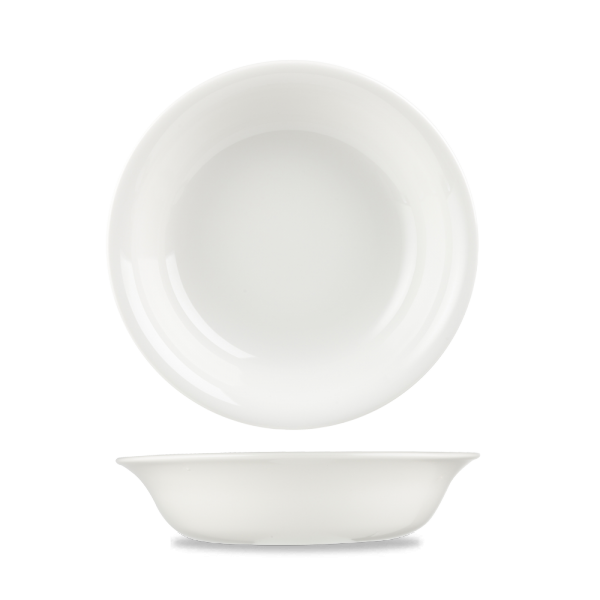 "White Serving Bowl 8.5"" 12/box"