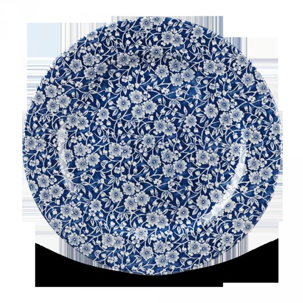 "Victorian Calico Prague Profile Plate 12"" 6/box"