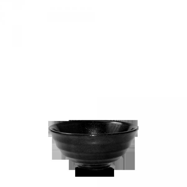 Metallic Black Noodle Bowl 10Oz 12/box