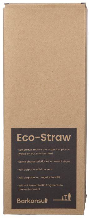 ECO rietjes transparant zonder buigstuk 10 mm Ø 25 cm