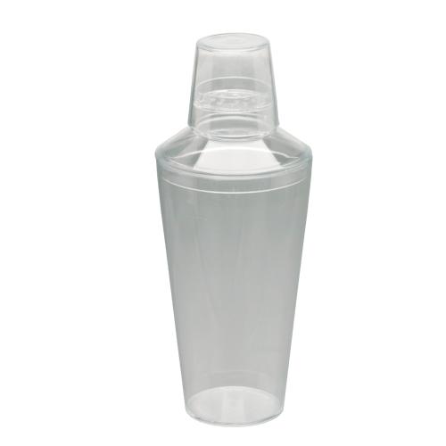 Plastic Shaker clear 3 pcs 740 ml