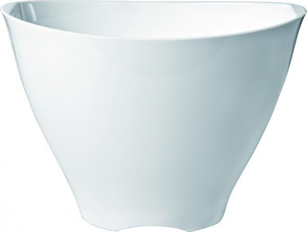 Ice Bucket white plastic Ř 29*19,5 cm 3.5 L