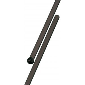 Flat Stirrer black 185 mm