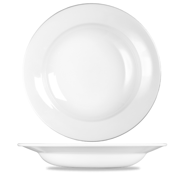 "White Profile Pasta Bowl 12 1/8"" 12/box"