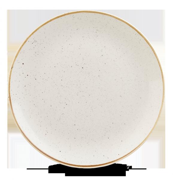 "Stonecast Barley White Coupe Evolve Plate 12"" 6/box"