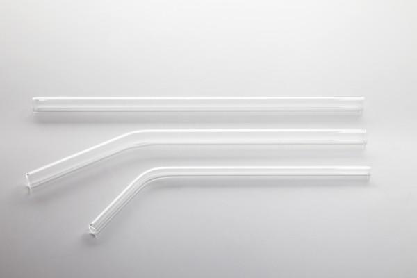Glass straw straight