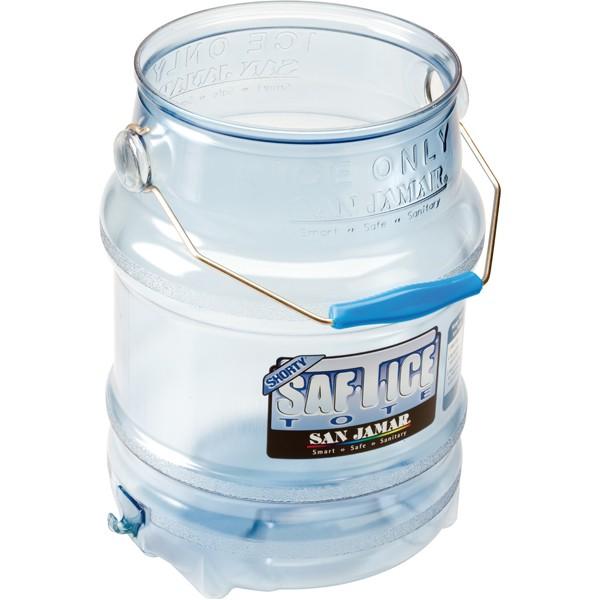 SafTIceTote ice transport bucket
