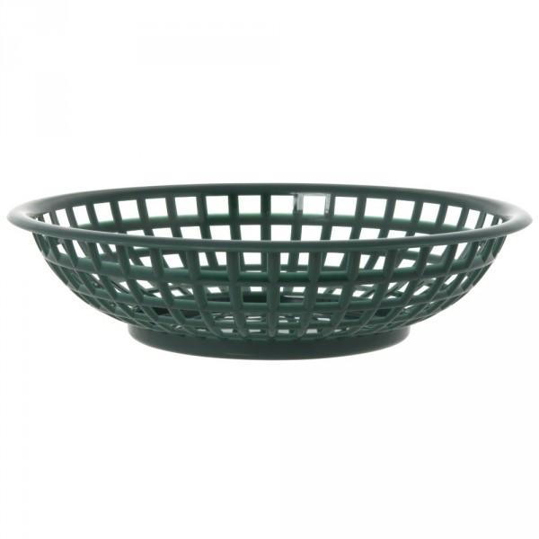 Tablecraft Serving Basket Round Forest Green