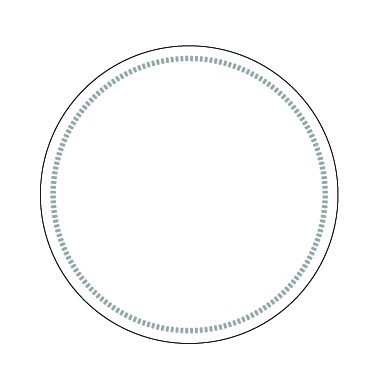Tissue Coaster white, 90 mm, 8-ply, round border