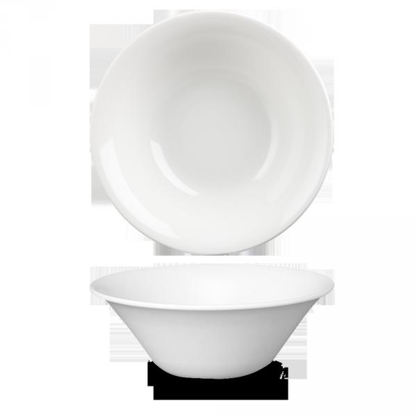 "White Med Large Salad Bowl 10"" 12/box"