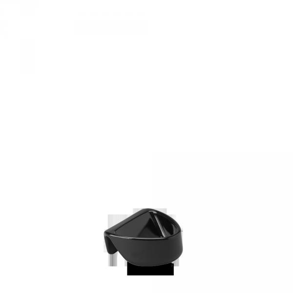 Black Plstc Dip Attachable Dipper Pot 2Oz Box 12