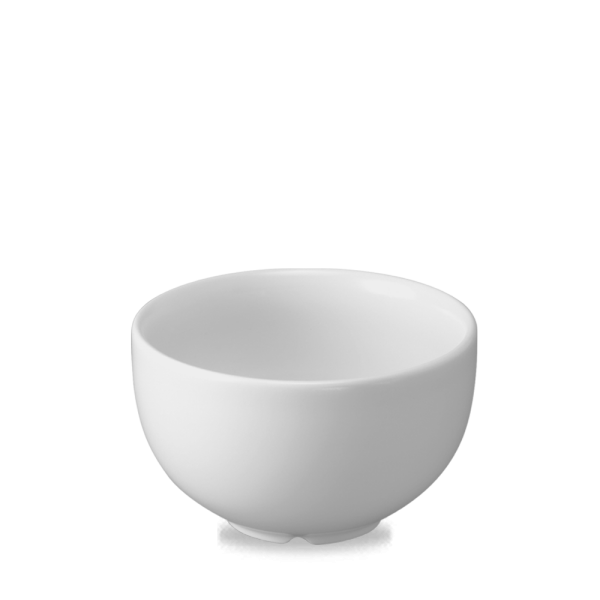 """White Footed Bowl 5.5"""" 6/box"""