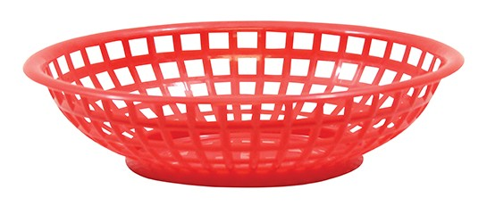 TABLECRAFT BASKET ROUND PE RD