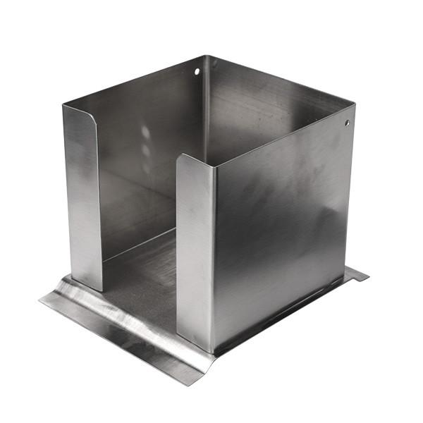 Napkin Dispenser stainless steel brushed