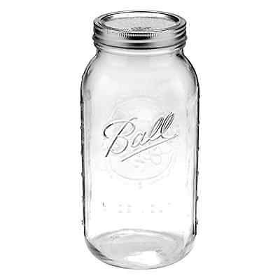 Mason Jar Ball Half Gallon Wide 64 oz