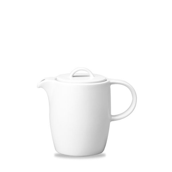 White Compact Beverage Pot 15Oz 4/box
