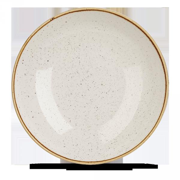 """Stonecast Barley White Coupe Large Bowl 12"""" 6/box"""