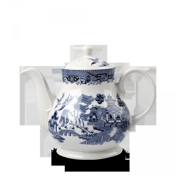 Blue Willow Sandringham Tea/Coffee Pot 30Oz Box 4