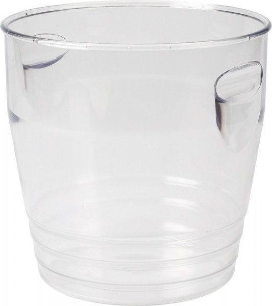 Ice Bucket Clear Plastic 22*22 cm 6 L