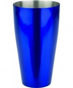 Boston Shaker powder coated blue 830 ml OP=OP