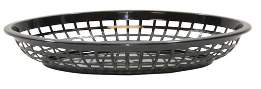 Jumbo Oval Basket Black 36/box