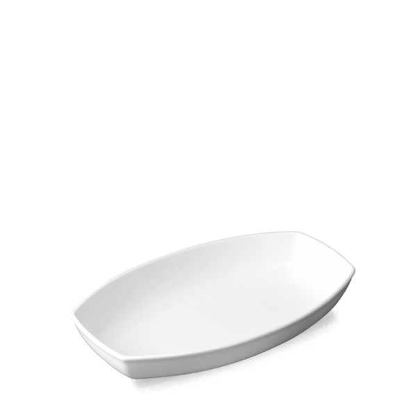 "White Options Medium Dish 11.5"" 6/box"